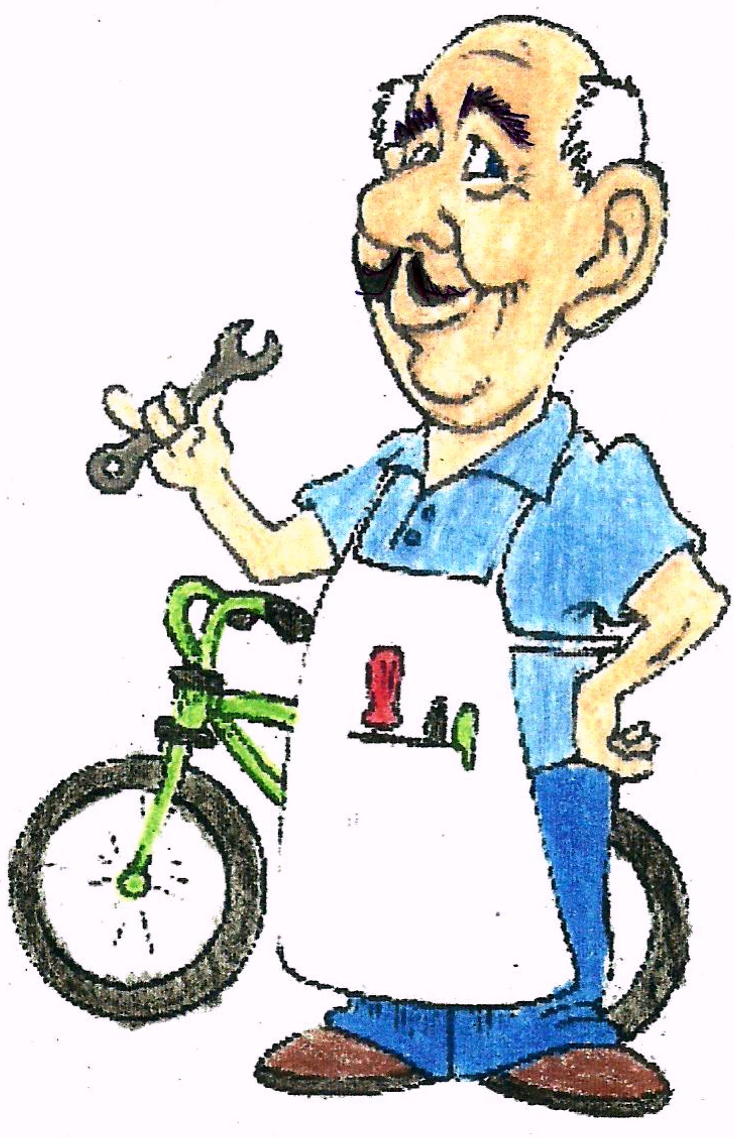 Willie's Motor Bike!